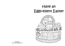 Easter Cards Printable Black And White