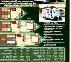 2016 5th Wheel Toy Hauler Floor Plans by 2018 Gulfstrteam Track U0026trail Toyhauler 24rt Lot 24
