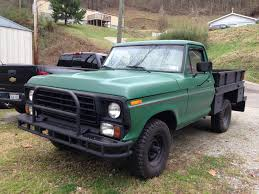 1978 Ford F-100 Pickup 6.6L 400 Modified 4X4 Positive Traction ...