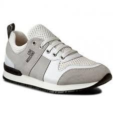LOVE MOSCHINO Hochwertige Sneakers Bunt Schuhe Fur Damen