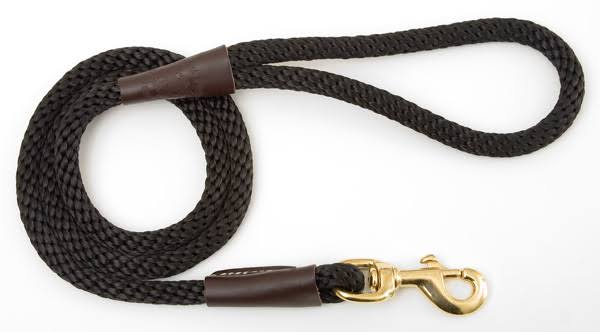 Mendota Snap Leash - Black