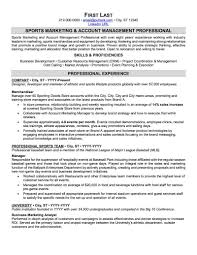 Sports And Coaching Resume Sample