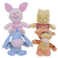 Disney Baby Winnie The Pooh by 8 Inch Winnie The Pooh Pastel Flopsies Assortment 8 00