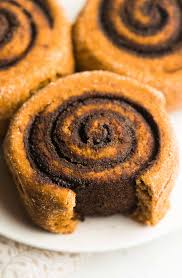 Healthy Chocolate Pumpkin Desserts by Healthy Chocolate Pumpkin Cinnamon Rolls Amy U0027s Healthy Baking