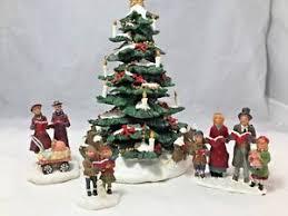Image Is Loading St Nicholas Square Christmas Village Caroling Around The