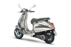 Vespa Piaggio Electric Scooter Green Transportation Sustainable Travel Eco