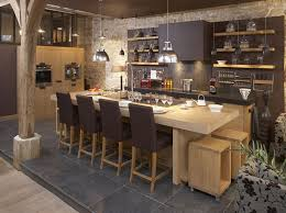 cuisine avec ilot central et coin repas ilot central avec coin repas meilleur idées de conception de