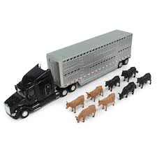 Peterbilt - Model 579 With Livestock Trailer | Online Toys Australia
