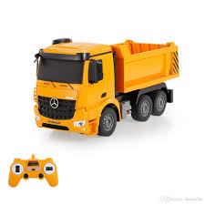 2.4g 1/26 Rc Engineering Dump Truck Rtr Radio Control Car Toy Led ... Green Toys Dump Truck The Animal Kingdom New Hess Toy And Loader For 2017 Is Here Toyqueencom Yellow Red Walmartcom Champion Cast Iron Antique Sale Shop Funrise Tonka Steel Classic Mighty Free Ttipper Industrial Vehicle Plastic Mega Bloks Cat Lil Playsets At Heb Dump Truck Matchbox Euclid Quarry No6b 175 Series Driven Lights Sounds Creative Kidstuff Classics 74362059449 Ebay Amazoncom American Games Groundbreakerz 2pk Color May Vary