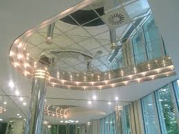 strong mirror ceiling tiles for high end reflective ceiling isc