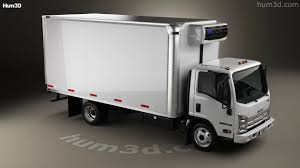 Isuzu NRR Refrigerator Truck 2010 3D Model By Hum3D.com - YouTube