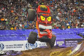 MONSTER JAM® RETURNS TO ANGEL STADIUM JAN 24 & FEB 7 | Macaroni Kid