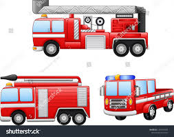 100 Fire Truck Cartoon Illustration Stock Vector Royalty Free