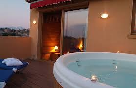 hotel spa dans la chambre habitacions la plaça hotel restaurant spa