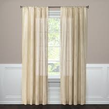 Target Threshold Window Curtains by Clipped Sheer Curtain Panel Threshold Target