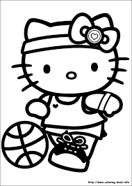 Free Download Hello Kitty Printable Coloring Pages In On Book