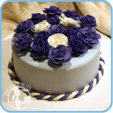 grannyspurpleflowercake