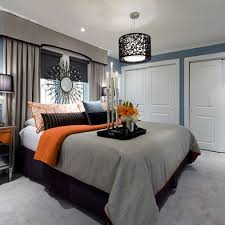 Stylish Design Gray And Orange Bedroom 17 Best Ideas About Grey On Pinterest
