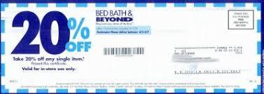 Bed Bath Beyond Paramus by Coupons Bed Bath U0026 Beyond Printable Car Wash Voucher