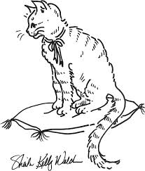 Cat Coloring Pages Printable And Kids To Make Stunning Free Dog 971