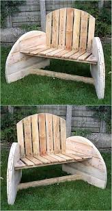 Pallet Outdoor Chair Plans by 23 Best Cable Reel Spool Ideas Images On Pinterest Recycled