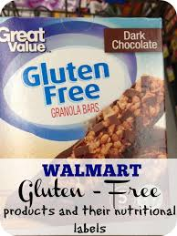 Halloween Candy List Gluten Free by Walmart Has A Brand New Gluten Free Food Line Here Is The List Of