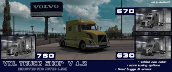 VOLVO VNL TRUCK SHOP V1.2 - American Truck Simulator Mod   ATS Mod Pin By Scott Dougherty On Trucks Pinterest Shop Truck Rats And Cars Just A Car Guy Looks Like A Shop But Its Actually Battery Accsories Auto Truck Tom The Tow Paint In City Monster Is Medium Heavy Repair Green Bay Wi Dorsch Ford Lincoln Kia 6500 1967 Chevrolet C10 Classic Studios Twin Turbod 1966 Ts 73 87 Web Cat Issuu Runtskeart Hand Painted Vehicle Lettering Graphics Buckeye Sidney New Dealership Oh 45365 Big Daddy Wrap Wraps Sticker Decal