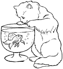 Online Kittens Coloring Pages 32 On Print With