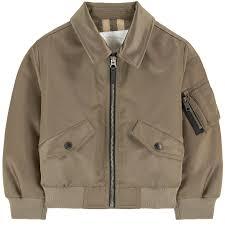 burberry siege social satin bomber jacket burberry for boys melijoe com
