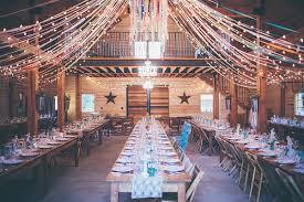 Sacramento Barn Reception Decor Ideas