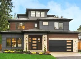 100 Contemporary House Siding Plan 23807JD Plan With With ThirdLevel Bonus