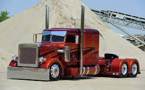 Cool Semi-Trucks | Peterbilt Semi Trucks Vehicles Color Candy Wheels ...