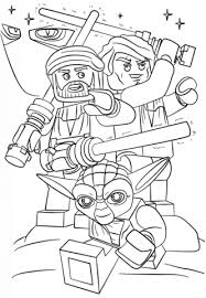 Click To See Printable Version Of Lego Star Wars Clone Coloring Page