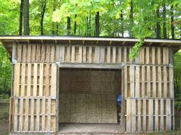 Shed Design Plans 8x10 by 10 Free Plans To Build A Shed From Recycle Pallet The Self
