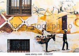 Famous Spanish Mural Artists by Giant Mural Painted By The Local Famous Street Artist Named Raul