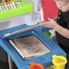 Step2 Art Master Activity Desk Teal by Step2 Great Creations Art Center Toys