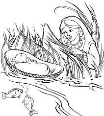 5 Fine Moses Coloring Pages Printable