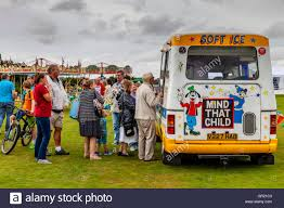 People Queueing Up At An Ice Cream Van To Buy Ice Cream, The Annual ... Ice Cream Trucks Jericho Ny A Wicked Awesome 1958 Chevy 3100 Truck Old Milk For Sale Man Rocky Point Scoff Sip Cream Van Hire Vintage Ice And Big Blue Bunny Atlanta Food Roaming Hunger Olrhbridomthevintagestepvanicecream Heritage Archives Whitby Morrison Our New Goodpop Austin Good Humor Is Bring Back Its Iconic White This Summer