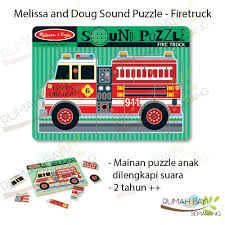 Jual Melissa & Doug Firetruck Sound Puzzle - Mainan Puzzle Anak ... Melissa Doug Fire Truck Sound Puzzle Wooden Peg With 4 Kids Books Toys Orchard Big Engine 20piece Floor 800 Hamleys Particles Toy Eeering Fire Truck Aircraft Children Toy Vehicle Set Accsories Old World Amish Andzee Naturals Baby Vegas Lena 6 Pcs Babymarktcom Melissa And Doug Fire Truck Chunky Puzzle Puzzles Shop By Category Djeco Harmony At Home Childrens Eco Boutique Shop The Learning Journey Jumbo Rescue Creative Wooden Puzzle On White Royaltyfree Stock