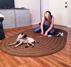 How Remove Paint From Carpet by How To Stencil U0026 Paint Carpet Our Peaceful Planet