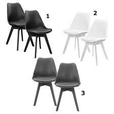stühle en casa 6x design stühle esszimmer grau stuhl