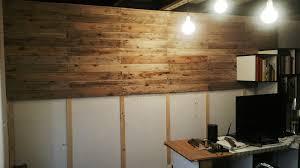 Revesti una pared con madera de pallet y te lo muestro Taringa