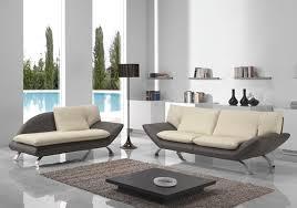 canap en cuir design canapé cuir design bicolore bereni canapé salon cuir italy