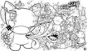 Munnyworld Coloring Book Page