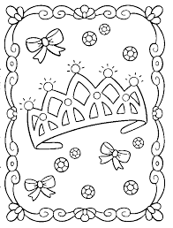 Printable Coloring Pages Princess