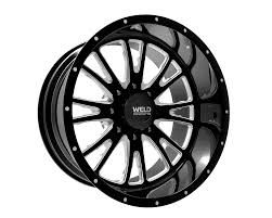 Weld Racing XT Slingblade 22x14 6x55 76mm Black Gloss Contrast Cut Lip