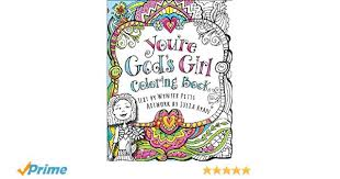 Youre Gods Girl Coloring Book Amazoncouk Wynter Pitts 9780736969635 Books