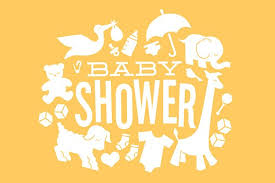 Baby Shower Logo by Baby Shower Icons Illustrations Creative Market