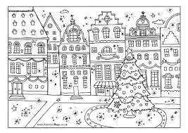 Activity Village Co Uk Christmas Colouring Pages