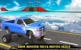 Monster Truck: Impossible Tracks Stunt Race Games 1.1 APK Download ...